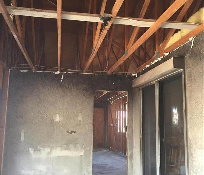 Yuma Fire Damaged Home and SERVPRO Restoration After