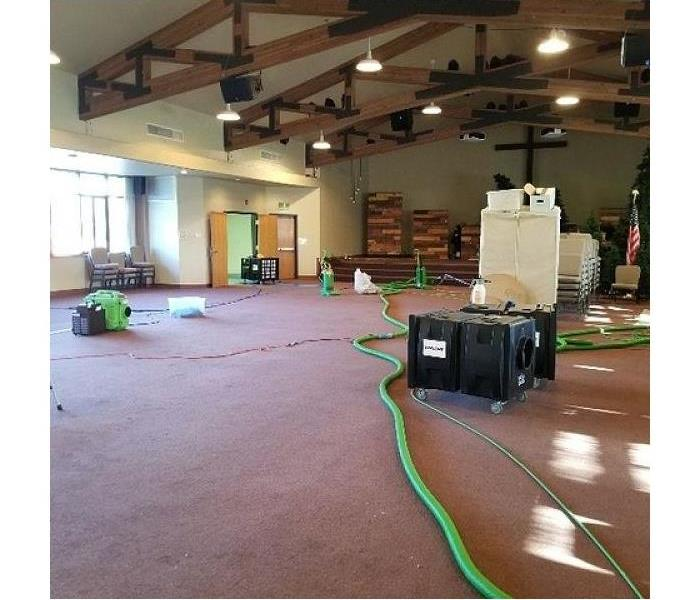 Cleaning After Smoke Damage in Church After