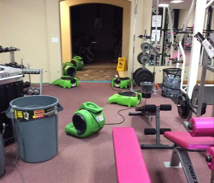 Water Loss in a Gym